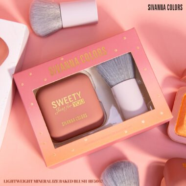 NEW!! Sivanna Colors Lightweight Mineralize Baked Blush